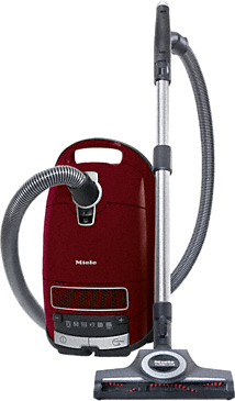 Complete C3 Cat&Dog PowerLine - SGEA3 - Cylinder vacuum cleaner --Tayberry red